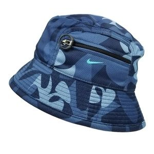 e8b03c34229 Nike Accessories - Nike Reversible Bucket Hat Camo   Blue